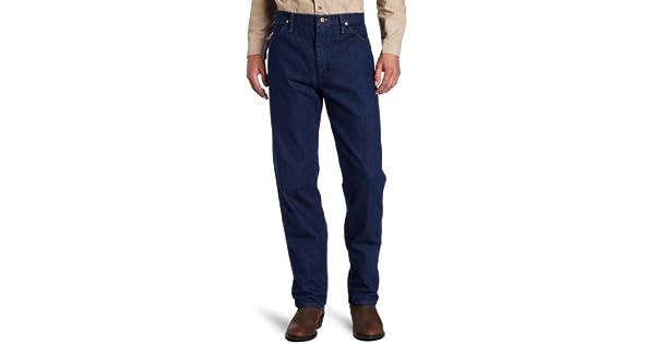 Amazon.com: Wrangler Vaquero Corte Original Fit Jean, índigo ...