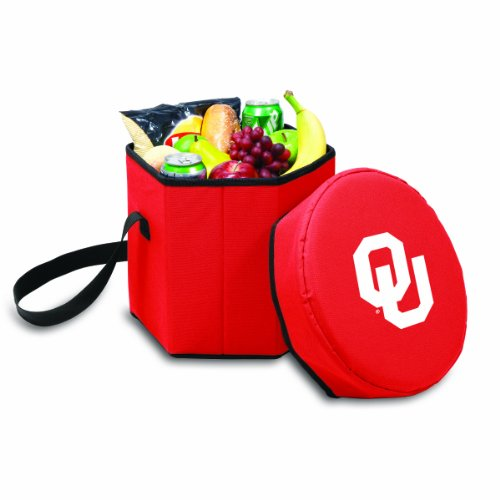 NCAA Oklahoma Sooners Bongo Insulated Collapsible Cooler, Red