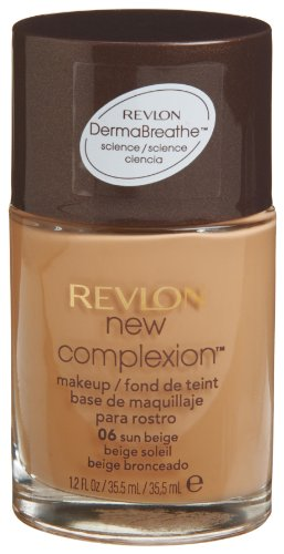 Revlon New Complexion Makeup, Sun Beige, 1.2 Ounces