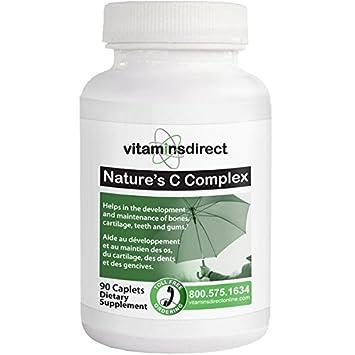 Amazon.com: Natures Vitamin C Complex 90 caplets – Nutrients for ...