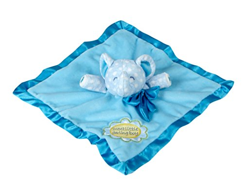 Sweet Little Darling Plush Baby Toddler Security Blanket - B