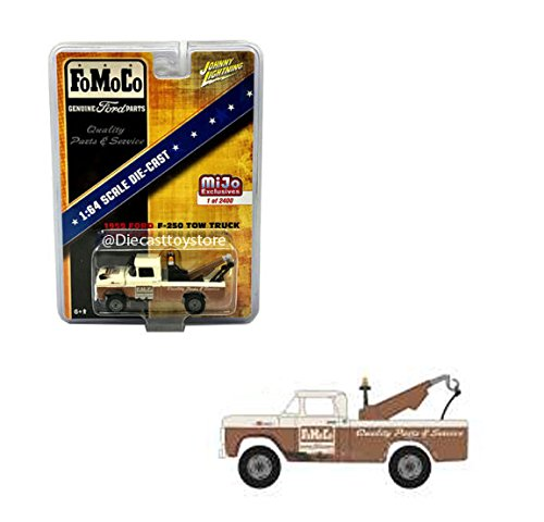 - Johnny Lightning 1:64 MiJo Exclusives - 1959 Ford F-250 Tow Truck - FoMoCo, Limited Edition