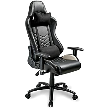 Amazon Com Merax Executive Gaming Chair Pu Leather And