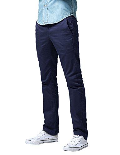 Match Men's Slim Fit Straight Leg Casual Pants