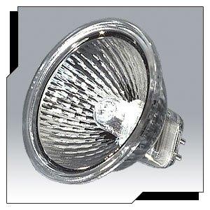 Ushio - 1001683 - 50 Pack - 35 Watt - MR16 - GU5.3 - 2950 Kelvin - Clear - Light Bulb