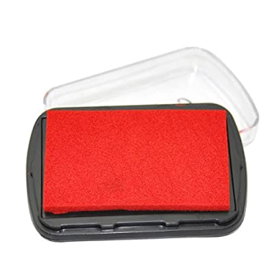 Stamp Pad Red Ink Palette for Stamping Card-Making -- Yazycraft