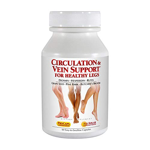 Andrew Lessman Circulation & Vein Support for Healthy Legs, 60 Capsules