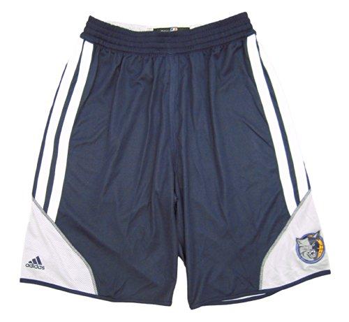 2013 Basketball Shorts (NBA Charlotte Bobcats 2013-14 adidas Practice Shorts - Reversible - Size 4XL +2