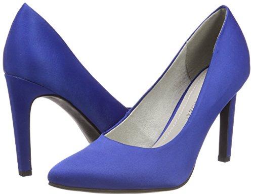 Tacón Tozzi Azul De royal Zapatos Para Marco 22422 Mujer IPvwwq