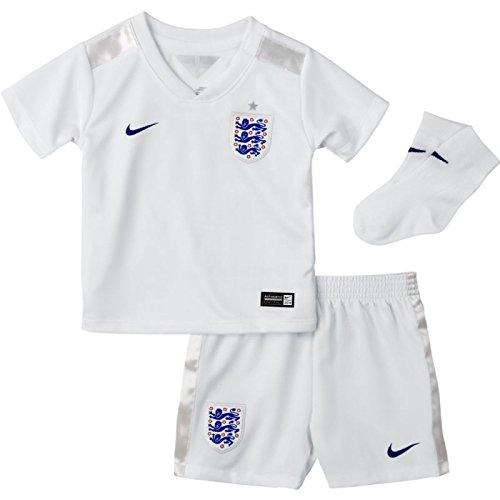 Baby Kit Home England - Nike England Infants Home Kit World Cup 2014 [Football White] (6-9)