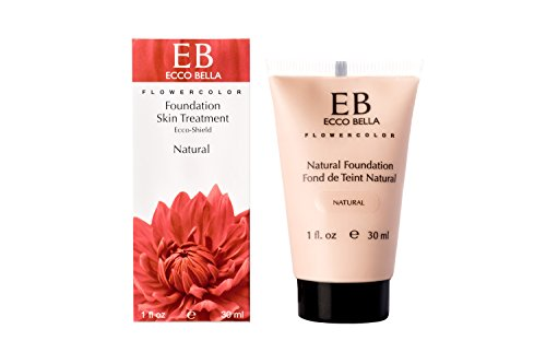 FlowerColor Natural Foundation SPF 15 (7 shades), Ecco Bella