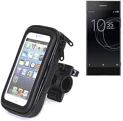 Montaje De La Bici Compatible Con Sony Xperia XA1, Montaje Del Manillar Para Smartphones / Teléfonos Móviles, De Aplicación Universal. Conveniente Para La Bicicleta, Motocicleta, Quad, Moto, Etc.: Amazon.es: Electrónica