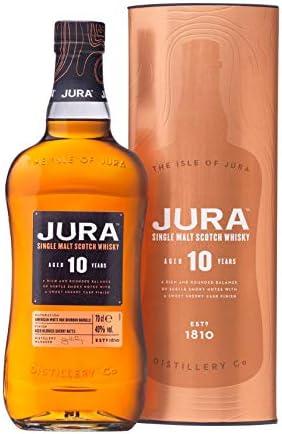 Jura Jura 10 Years Old Single Malt Scotch Whisky 40% Vol. 0,7L In Giftbox - 700 ml