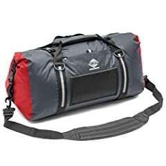 The Aqua Quest White Water 75L duffel is designed to provide waterproof protection in the classic duffel style that so many people know and love. Perfect for your roof-rack, motorbike, ATV, boat, or next big trip, and will keep your gear dry ...