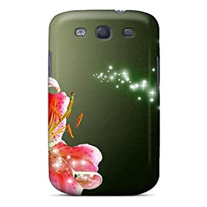 Series Skin Case Cover For Galaxy S3(coral Lily)