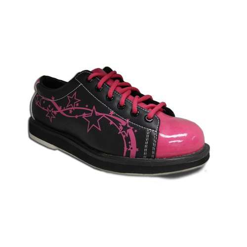 Pyramid Women's Rise Black/Hot Pink (Size 8)