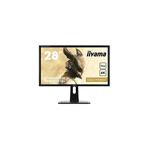 IIYAMA GB2888UHSU-B1 - 28'G-Master GB2888UHSU-B1 4K 3860x2160, Height Adjustable, USB, HDMI, DP,...