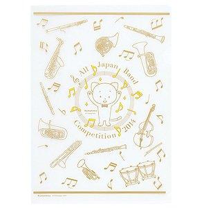 Amazon こまねこ クリアファイル楽器 2014 全日本吹奏楽コンクール