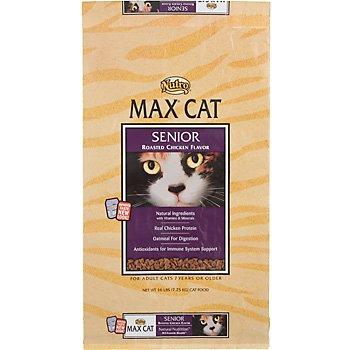 Max Senior Roasted Chicken Flavor Cat Food, 6-Pound, My Pet Supplies