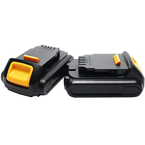 2-Pack - DeWALT DCF883L2 Battery Replacement - For DeWALT 20V MAX Power Tool Battery (1500mAh, Lithium-Ion) -  Upstart Battery, DE-20V-LION-15-2BATT-DL58