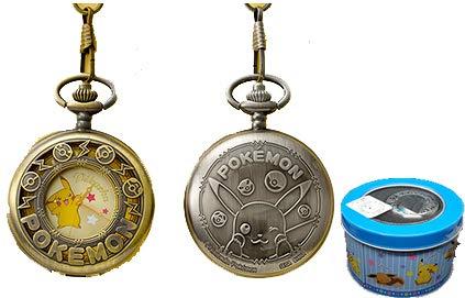 [해외]포켓 몬스터 썬 앤 문 양각 시계 피카츄 시계 오리지날 BOX! 손목 시계 시계 수집품  /  Sun- Moon Relief Pocket Watch Pikachu Watch with Original BOX! List Watch Watch Toy