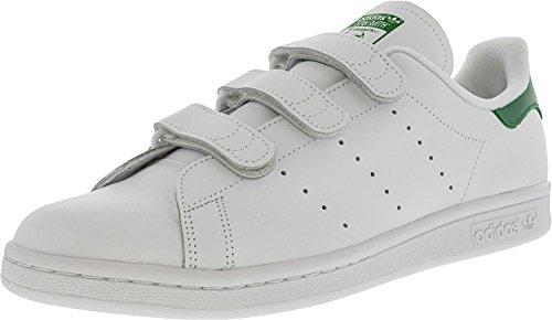 sale retailer f4d6c 7ce59 Vit Top Smith Originals Low Unisex Adidas Guld Grön Trainer  Stan Adults  SHnWB18O.
