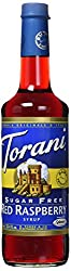 Torani Sugar Free Raspberry Syrup (750 Ml25.4 Oz)