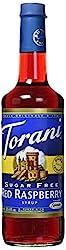 Torani Sugar Free Raspberry Syrup (750 Ml25.4 Oz)