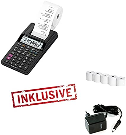Casio HR-8TEC – Calculadora (Impresora Incluye Fuente De ...