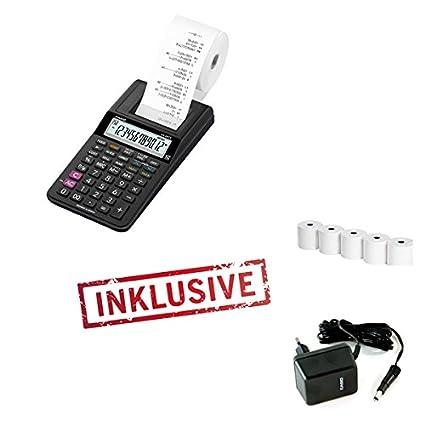 Casio HR-8TEC - Calculadora (Impresora Incluye Fuente De ...
