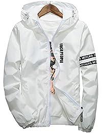 Men's Casual Jacket Lightweight Breathable Windbreaker