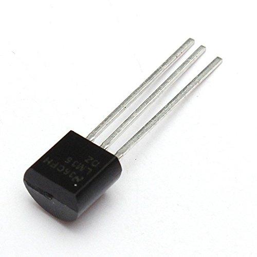 ILS. - 10 Pieces LM35DZ Temperature Sensor LM35 Precision centigrade to-92