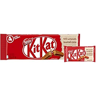 KIT KAT 4 Finger, 4x45g, Multipack (B00GMA7F0U) | Amazon price tracker / tracking, Amazon price history charts, Amazon price watches, Amazon price drop alerts