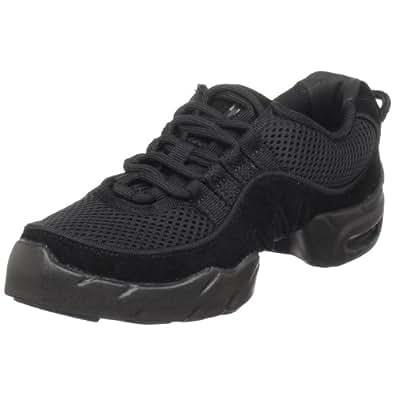 Bloch Womens Boost DRT Mesh Sneaker, Black-14.5