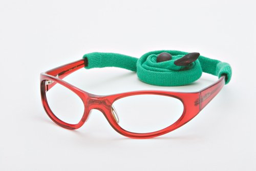 Leaded Glasses Radiation Protective Eyewear PSR-100 (Red)