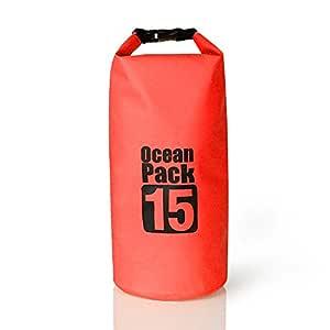 2L/3L/5L/10L/15L/20L/30L 500D Tarpaulin Heavey-Duty PVC Water Proof Dry Bag Sack for Kayaking/Boating/Canoeing/Fishing/Rafting/Swimming/Camping/Snowboarding