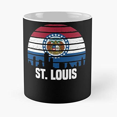 St Louis Missouri - Coffee Mugs Unique Ceramic Novelty Cup]()