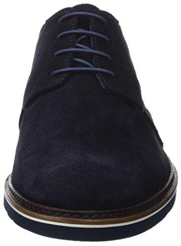 Hombre de Navy Martinelli Dark Cordones Derby Zapatos para Azul Tyler qwYpHnf