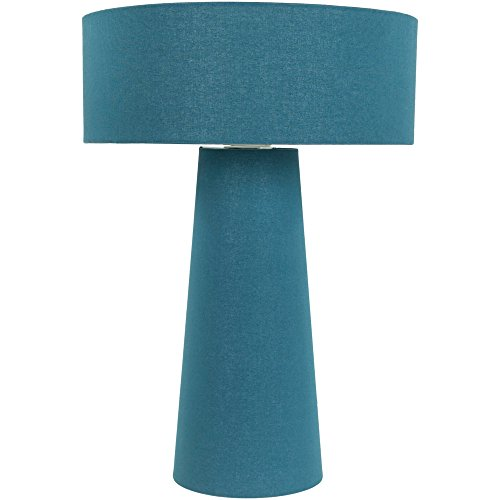 Cotton Shade Table Lamp, Blue ()