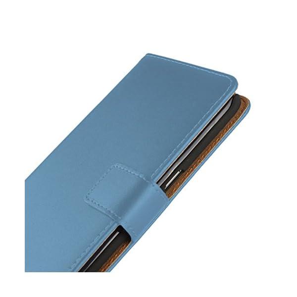 Eximmobile-Book Case Funda Carcasa para Huawei Funda con Tarjetero en 11Colores   Funda de Piel sintética   Funda como Funda Flip Case Cover   Funda   Funda de Piel sintética 6