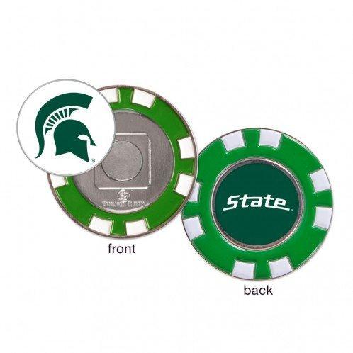 Michigan B01DO9EP72 State SpartansボールマーカーChallenge State Coinポーカーチップメタル B01DO9EP72, ピーストックアミューズメント:a6ce7d65 --- itxassou.fr