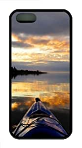 WMSHOPE? iPhone 4 4s Case Cover SUNSET FROM KAYAK SOFT OR FOR