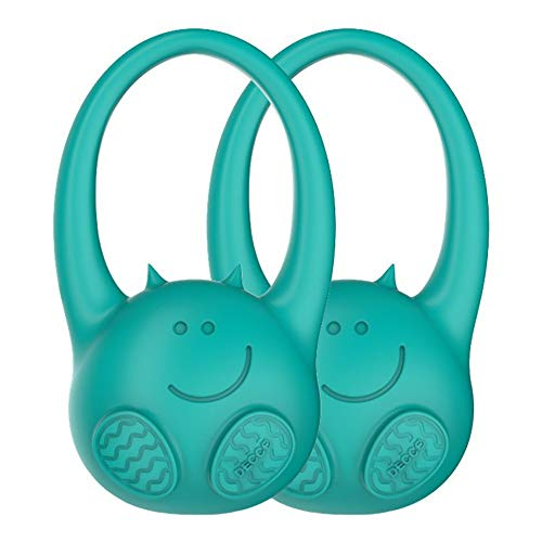 Toddlermonitor Baby, Child Toddler Monitor – Door Hanging Motion Sensor That Alerts You If Your Child Leaves Their Room At Night – Turquoise – 2 Pack