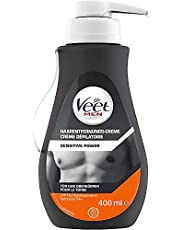 Veet Krem do usuwania włosów męskich dla skóry wrażliwej