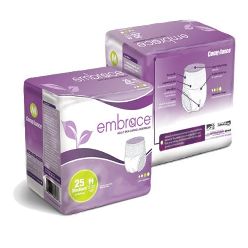Embrace Adult Skin Caring Underwear - X-Large - 58