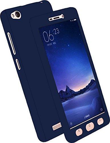 release date 9de13 4a2b5 Johra Full Body Front & Back 360 Protective Case Cover For Vivo V5S - Blue