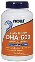 Now Supplements, DHA-500, Molecularly Di...