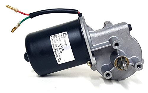 Makermotor 10mm 2-flat Shaft 12V DC Reversible Electric Gear Motor 100 RPM
