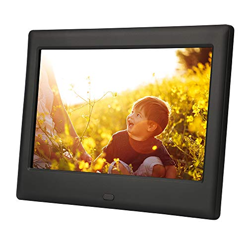 DBPOWER HD Digital Photo Frame IPS LCD Screen with Auto-Rotate/Calendar/Clock Function & Remote Control (7 inch) from DBPOWER