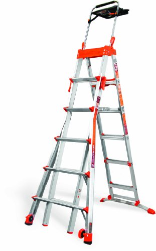 Little Giant Ladder Systems 15109-001 300-Pound Duty Rating Select Step 6-Feet to 10-Feet Adjustable Step Ladder  sc 1 st  Amazon.com & Little Giant Step Ladder: Amazon.com islam-shia.org